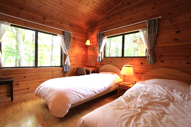 コテージ 寝室イメージ