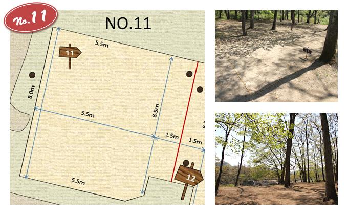 Tent Site No.11